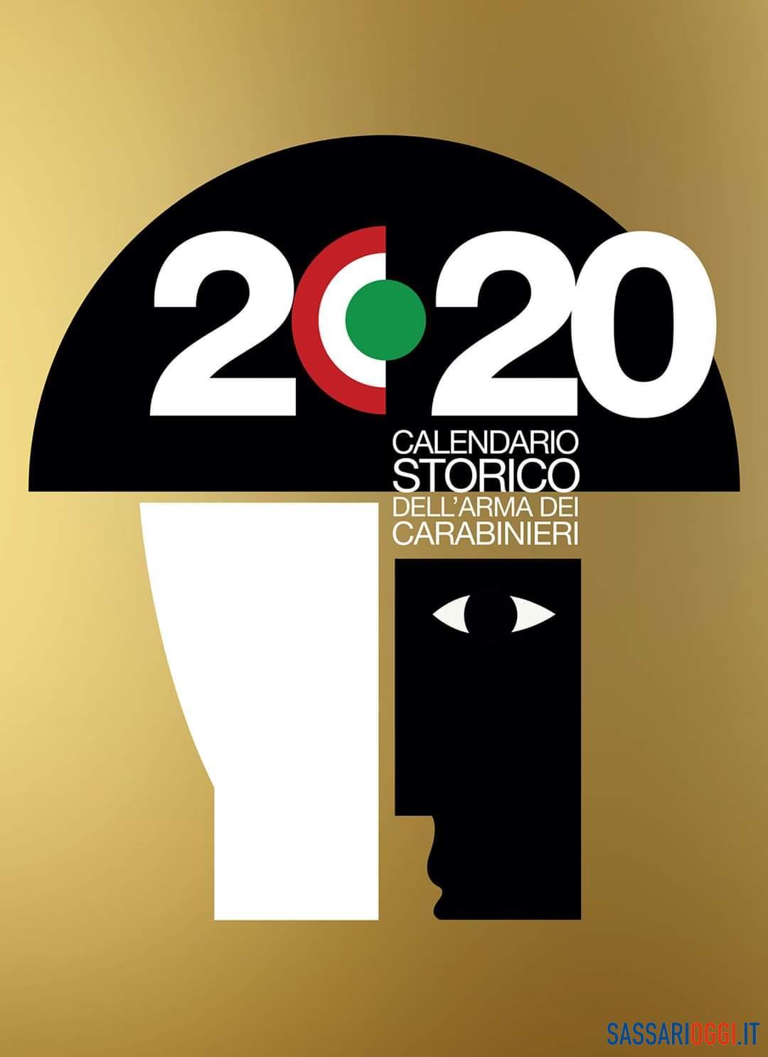 Sassari, presentato il calendario 2020 dell'Arma dei carabinieri - Sassari Oggi