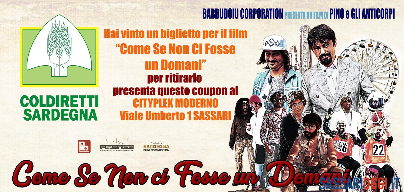 Sassari, al mercato in omaggio il biglietto del film di Pino e gli Anticorpi - Sassari Oggi