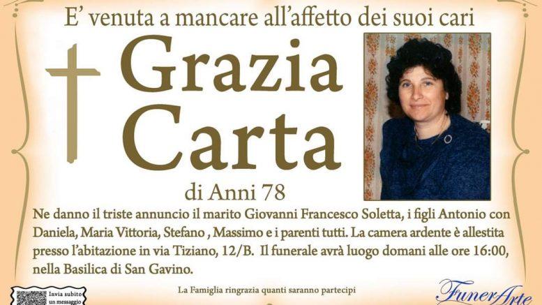 Grazia Carta