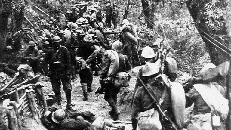 24 ottobre 1917, la Brigata Sassari nella battaglia di ...